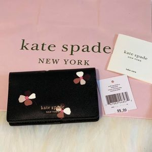 Kate Spade small snap bifold card holder